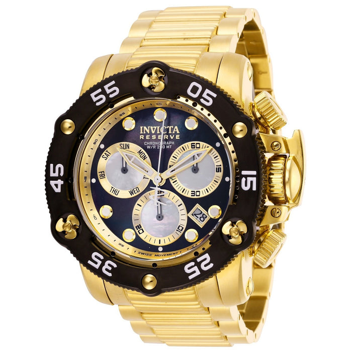 Invicta Men's 28552 Reserve Propeller Gold-Tone Stainless Steel Watch