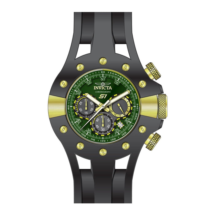 Invicta Men's 28570 Black Silicone Watch