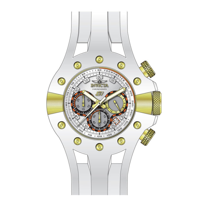 Invicta Men's 28571 White Silicone Watch