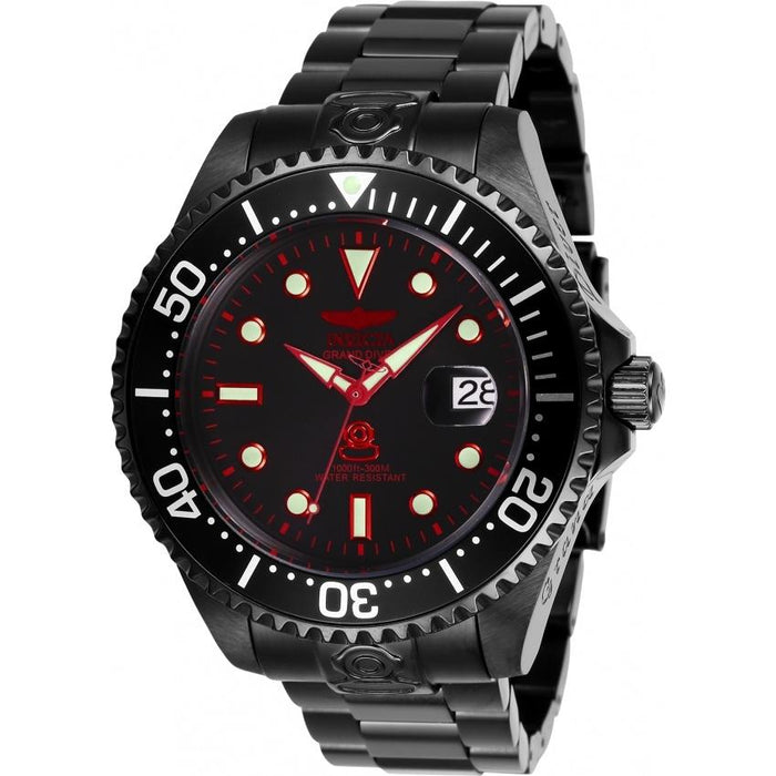 Invicta Men's 28685 Pro Diver Automatic Black Stainless Steel Watch
