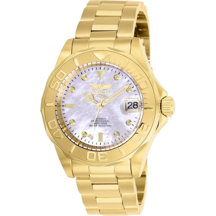 Invicta Men's 28694 Pro Diver Automatic Gold-Tone Stainless Steel Watch