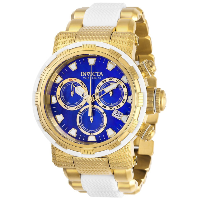 Invicta Men's 28796 Specialty Gold-Tone and White Inserts Stainless Steel Watch