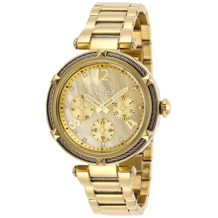 Invicta Women's 29134 Bolt Gold-Tone Stainless Steel Watch