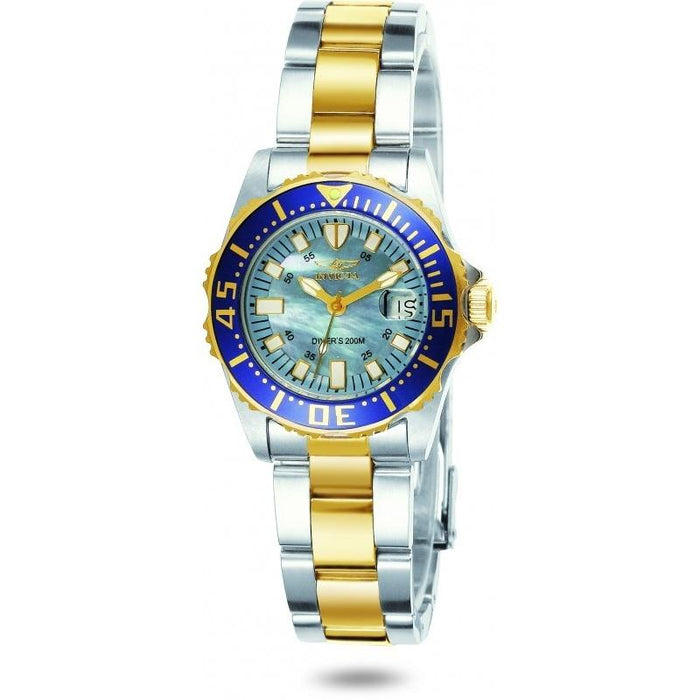 Invicta Women's 2961 Pro Diver Gold-Tone and Silver Stainless Steel Watch