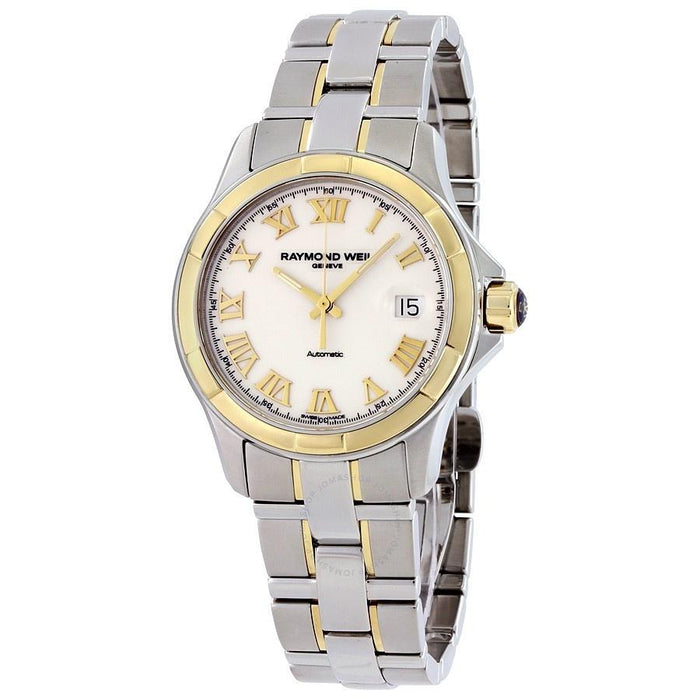 Raymond Weil Men's 2970-SG-00308 Parsifal 18kt Yellow Gold Automatic Two-Tone Stainless Steel Watch