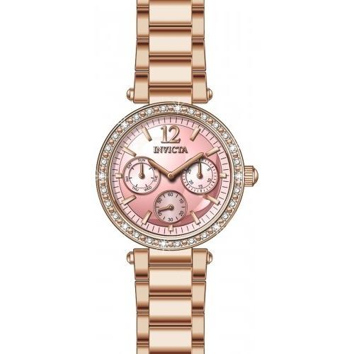 Invicta Women's 29927 Angel Rose-Tone Stainless Steel Watch
