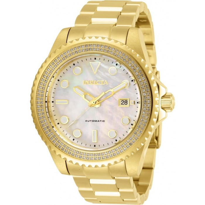 Invicta Men's 30328 Pro Diver Automatic Gold-Tone Stainless Steel Watch