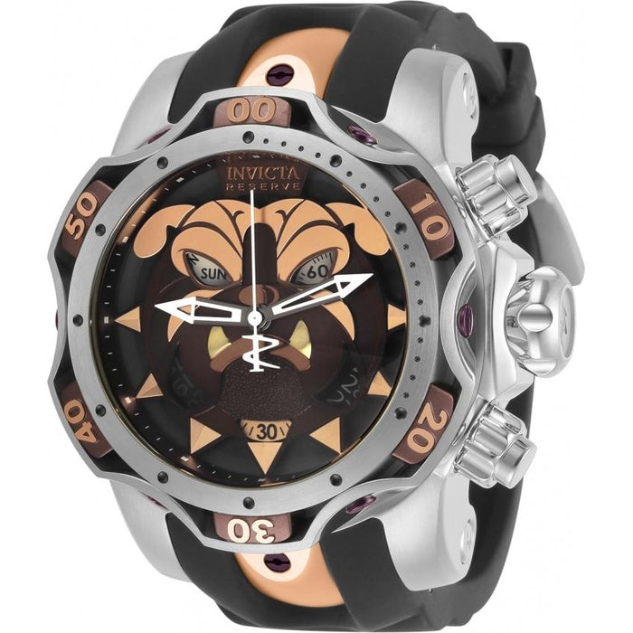 Invicta Men's 30348 Reserve Venom Black Silicone Watch