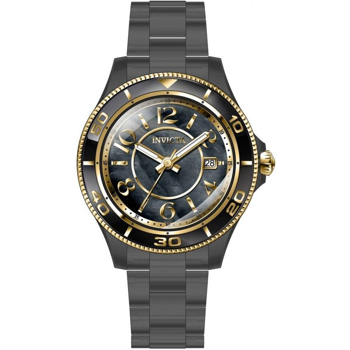 Invicta Women's 30363 Anatomic Black Plastic Watch