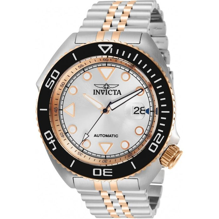 Invicta Men's 30419 Pro Diver Automatic Rose-Tone and Silver Stainless Steel Watch