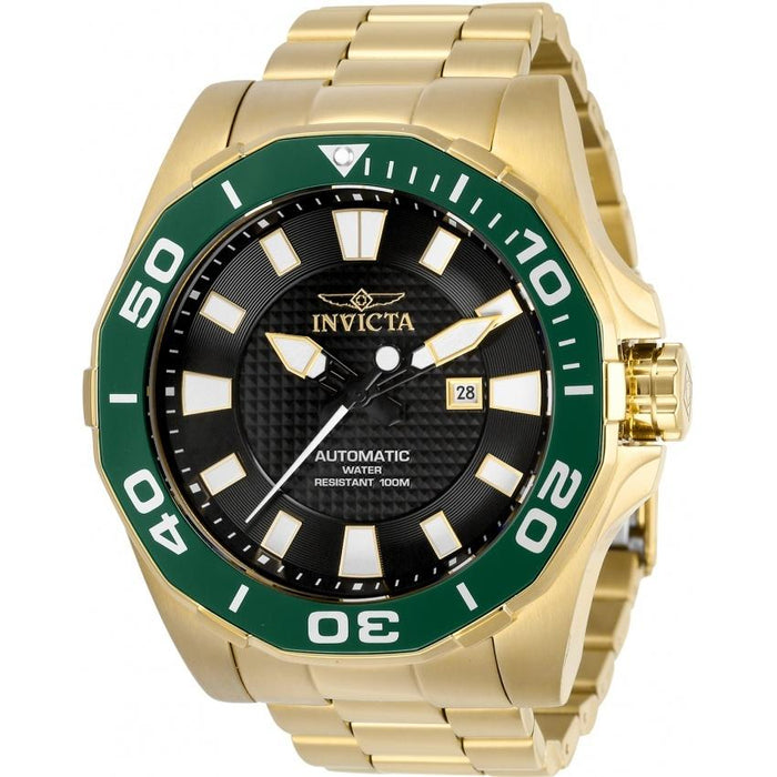 Invicta Men's 30516 Pro Diver Automatic Gold-Tone Stainless Steel Watch