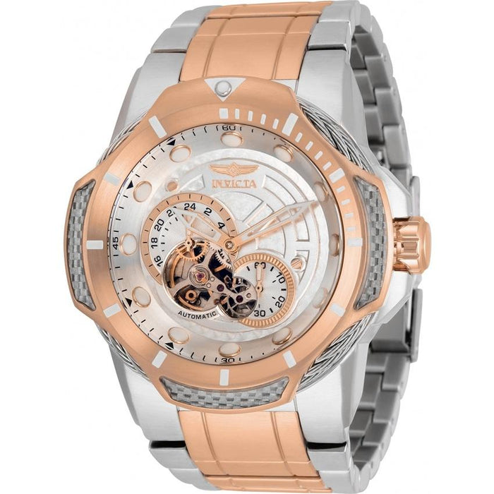 Invicta Men's 31176 Bolt Automatic Rose-Tone and Silver Stainless Steel Watch