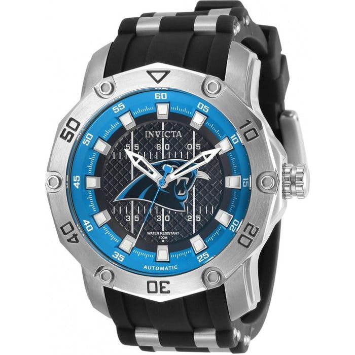 Invicta Men's 32012 NFL Panthers Automatic Silicone Watch