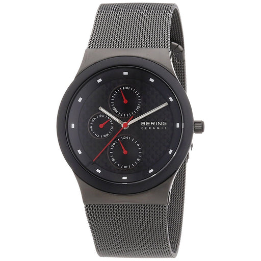 Bering Men's 32139-222 Ceramic Multi-Function Grey Stainless Steel Watch