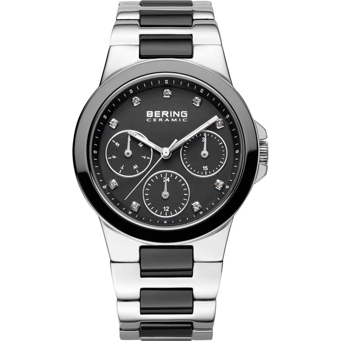 Bering Women's 32237-742 Ceramic Multi-Function Crystal Two-Tone Stainless steel and Ceramic Watch