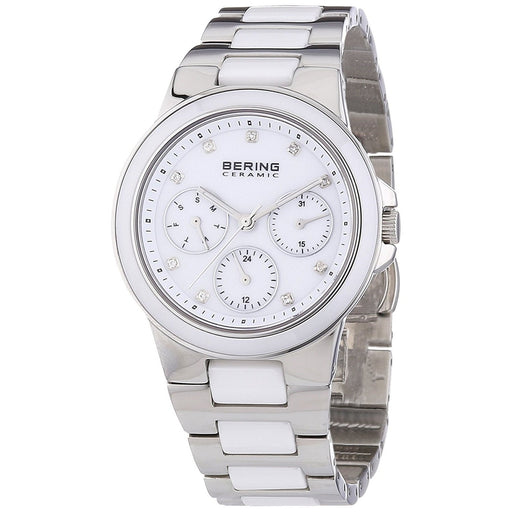 Bering Women's 32237-754 Ceramic Multi-Function Crystal Two-Tone Stainless steel and Ceramic Watch