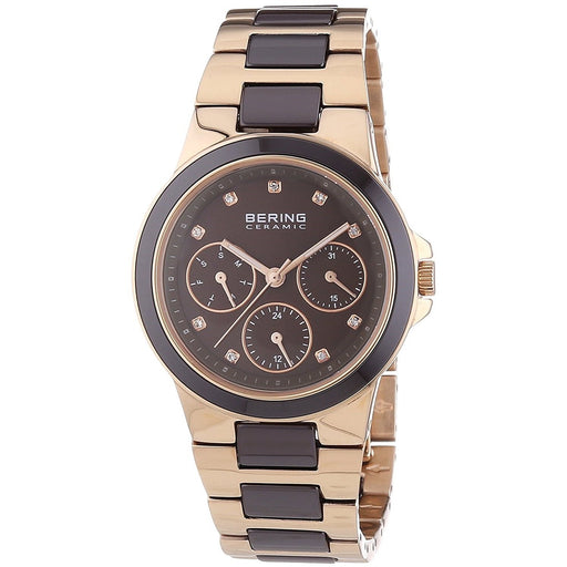 Bering Women's 32237-765 Ceramic Multi-Function Crystal Two-Tone Stainless steel and Ceramic Watch