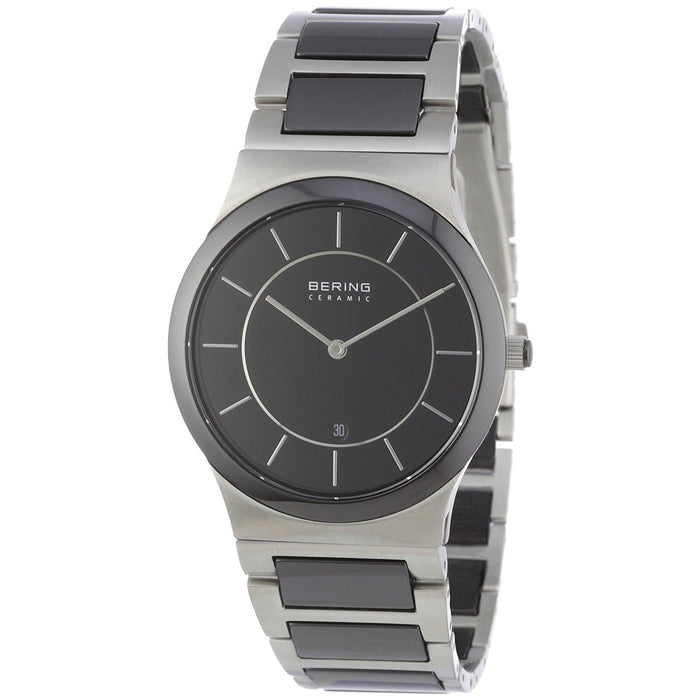 Bering Men's 32239-747 Ceramic Two-Tone Stainless steel and Ceramic Watch