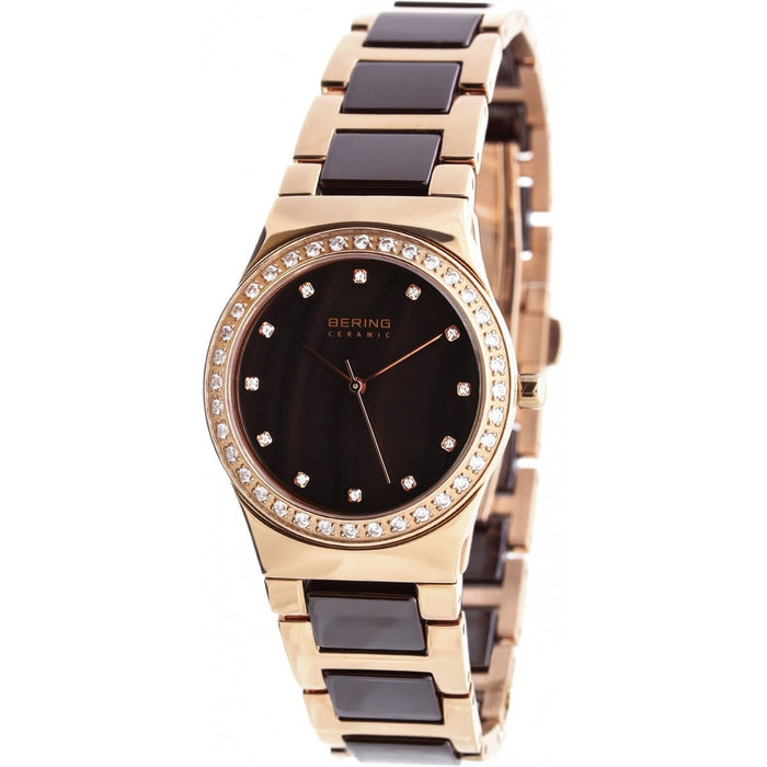 Bering Women's 32435-765 Ceramic Crystal Two-Tone Stainless steel and Ceramic Watch