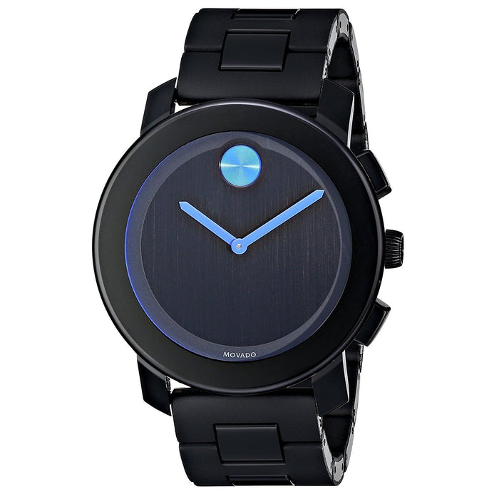 Movado Men's 3600099 Bold Black Stainless Steel Watch