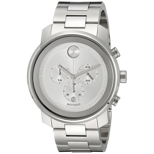 c44b9832d Movado Men's 3600276 Bold Chronograph Stainless Steel Watch