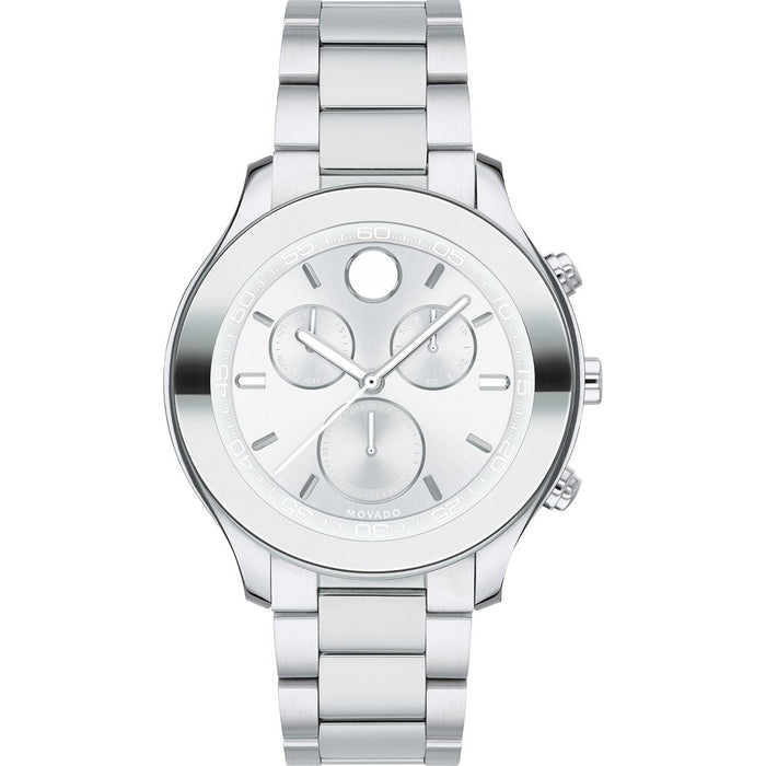 Movado Women's 3600545 Bold Chronograph Stainless Steel Watch