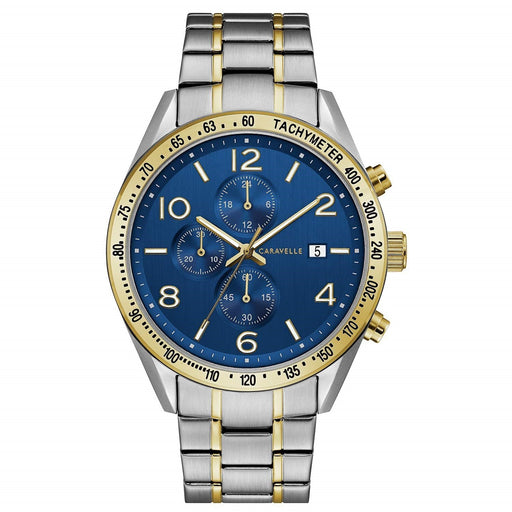 Bulova Men's 45B152 Caravelle Chronograph Two-Tone Stainless Steel Watch