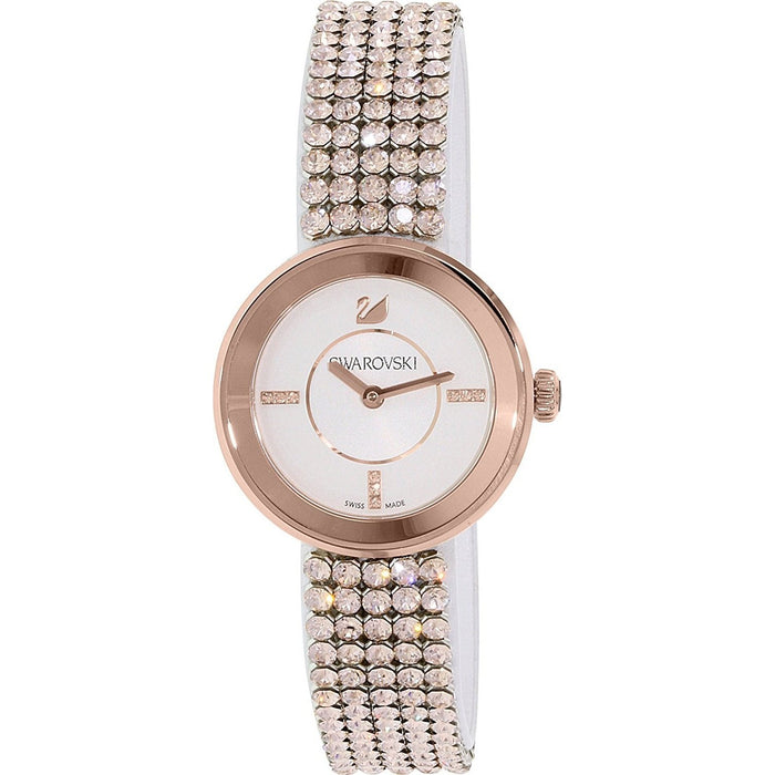 Swarovski Women's 5027319 Piazza Mini Crystal Rose-Tone Stainless Steel Watch
