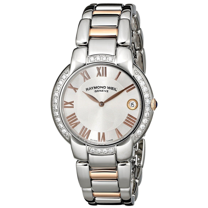 Raymond Weil Women's 5235-S5S-01658 Jasmine Diamond Two-Tone Stainless Steel Watch