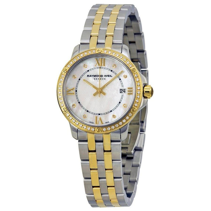 Raymond Weil Women's 5391-SPS-00995 Tango Diamond Two-Tone Stainless Steel Watch