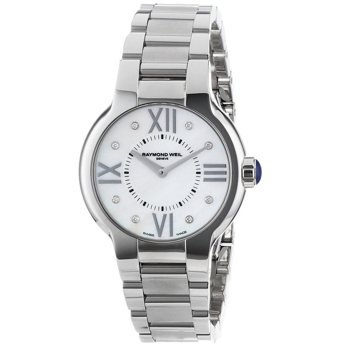 Raymond Weil Women's 5932-ST-00995 Noemia Diamond Stainless Steel Watch