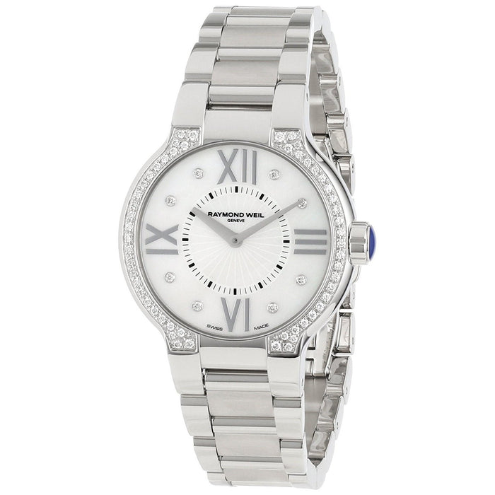 Raymond Weil Women's 5932-STS-00995 Noemia Diamond Stainless Steel Watch