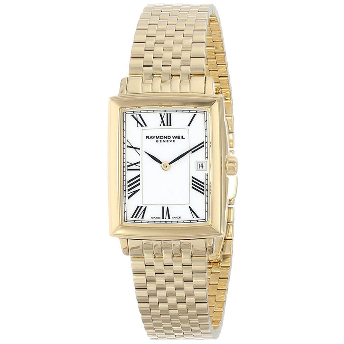 Raymond Weil Women's 5956-P-00300 Tradition Gold-tone Stainless Steel Watch
