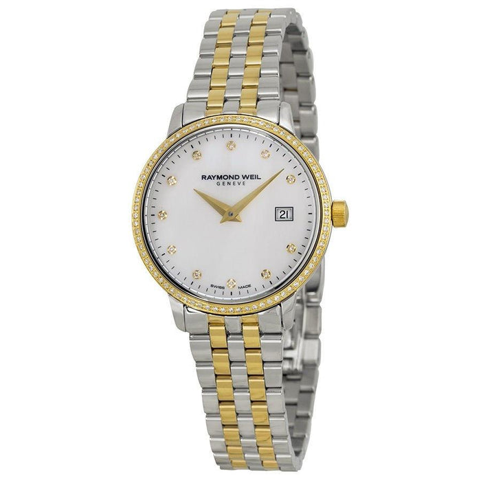 Raymond Weil Women's 5988-SPS-97081 Toccata Diamond Two-Tone Stainless Steel Watch