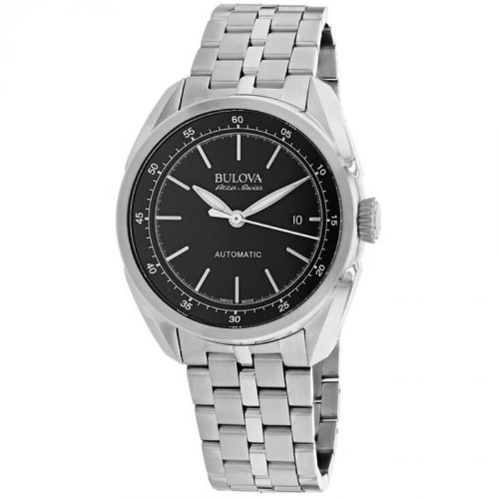 Bulova Men's 63B193 Tellaro Automatic Stainless Steel Watch