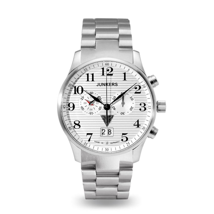 Junkers Men's 6686m-1 Chronograph Stainless Steel Watch