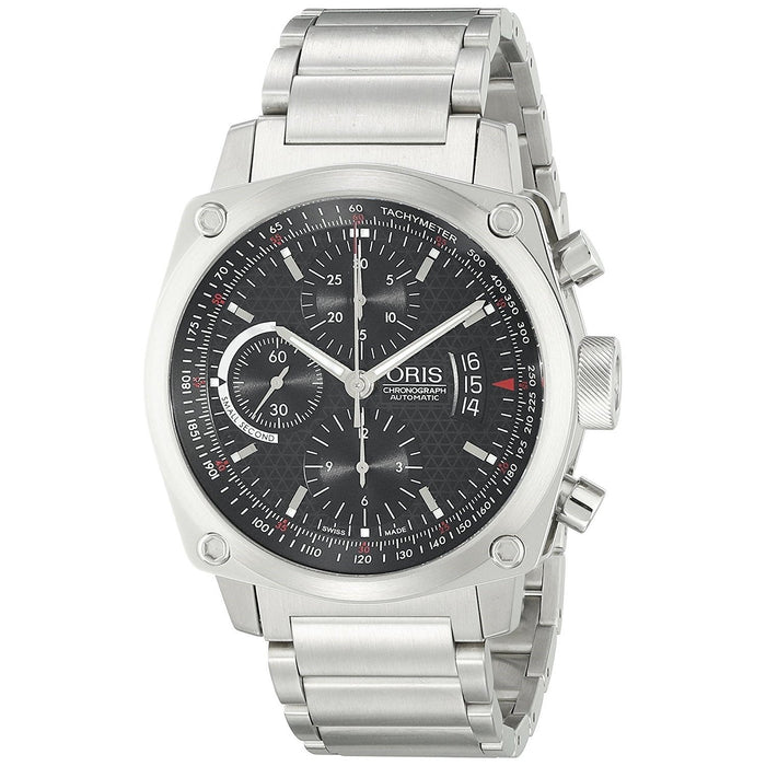 Oris Men's 67476164154MB BC4 Automatic Chronograph Stainless Steel Watch