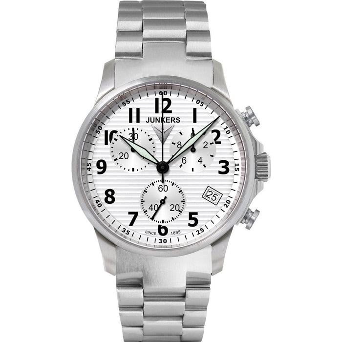 Junkers Men's 6890m-1 Chronograph Stainless Steel Watch