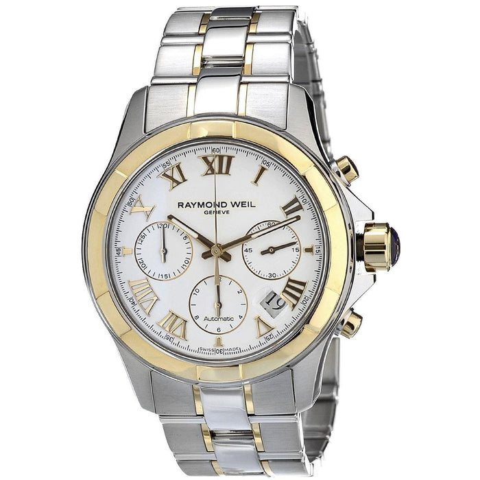 Raymond Weil Men's 7260-SG-00308 Parsifal Chronograph Automatic Two-Tone Stainless Steel Watch