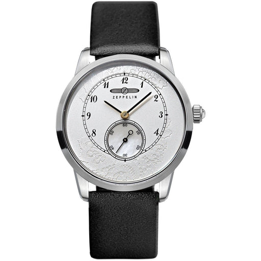 Zeppelin Women's 7333-1 Viktoria Black Leather Watch