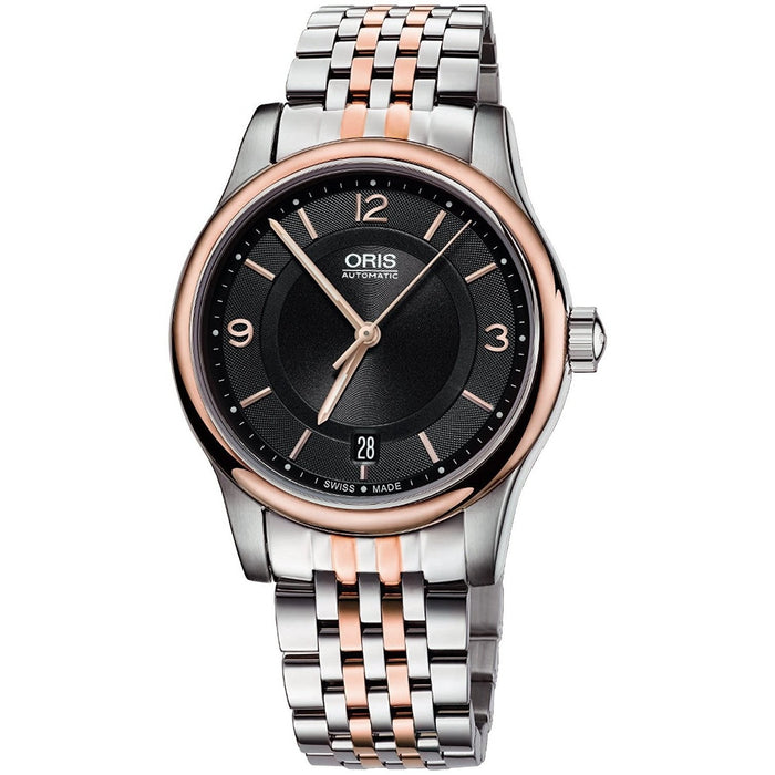 Oris Men's 73375784334MB Classic Automatic Two-Tone Stainless Steel Watch