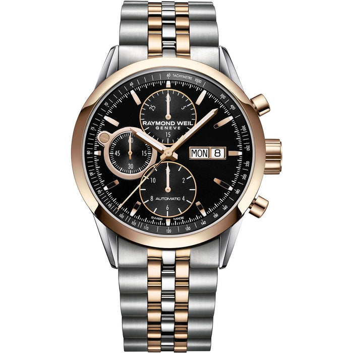 Raymond Weil Men's 7730-SP5-20111 Freelancer Chronograph Automatic Stainless Steel Watch