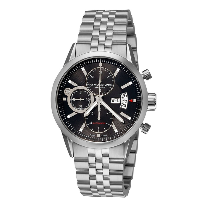 Raymond Weil Men's 7730-ST-20001 Freelancer Chronograph Automatic Stainless Steel Watch