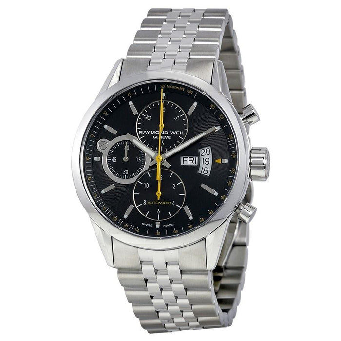 Raymond Weil Men's 7730-ST-20021 Freelancer Chronograph Automatic Stainless Steel Watch