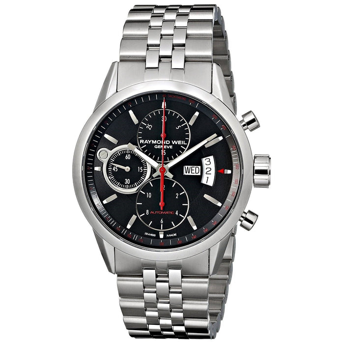 Raymond Weil Men's 7730-ST-20041 Freelancer Chronograph Automatic Stainless Steel Watch