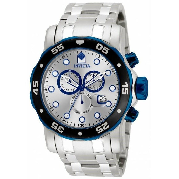 Invicta Men's 80043 Pro Diver Scuba Chronograph Stainless Steel Watch
