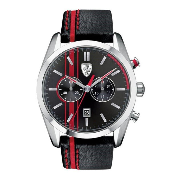 Ferrari Men's 830177 D50 Chronograph Two-Tone Leather Watch