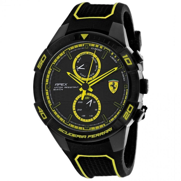 Ferrari Men's 830633 Scuderia Black Silicone Watch