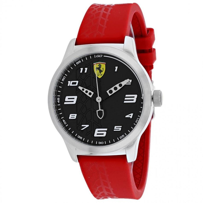 Ferrari Men's 840019 Pitlane Red Silicone Watch