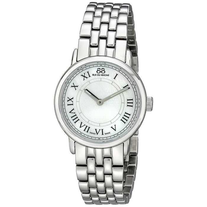 88 Rue du Rhone Women's 87WA120007 Double 8 Origin Stainless Steel Watch